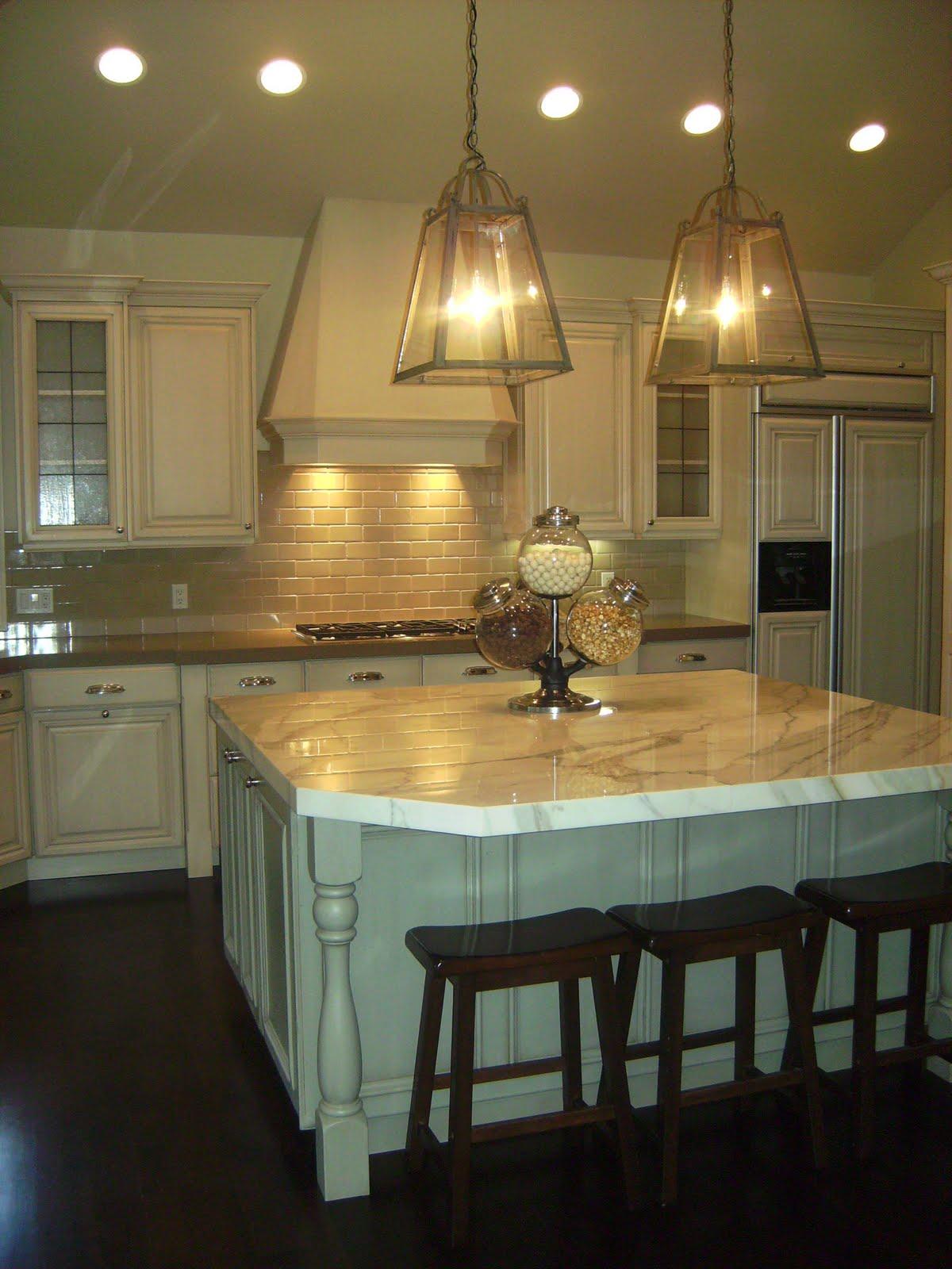Lantern Kitchen Pendants With