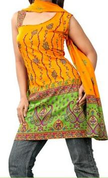 Kurti and blouse