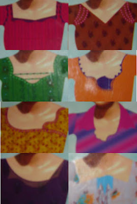 Salwar neck pattern