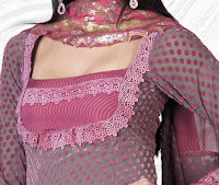 salwar neck model