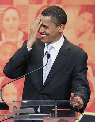animated obama laughing