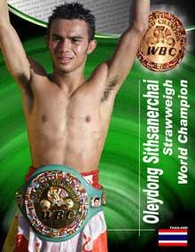 Oleydong Sithsamerchai Strawweight Champion 2008