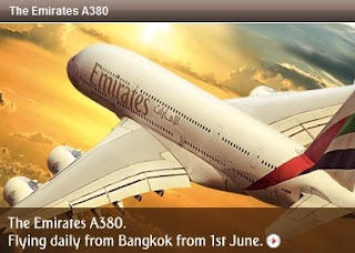 Emirates A380 Dubai-Bangkok daily launched