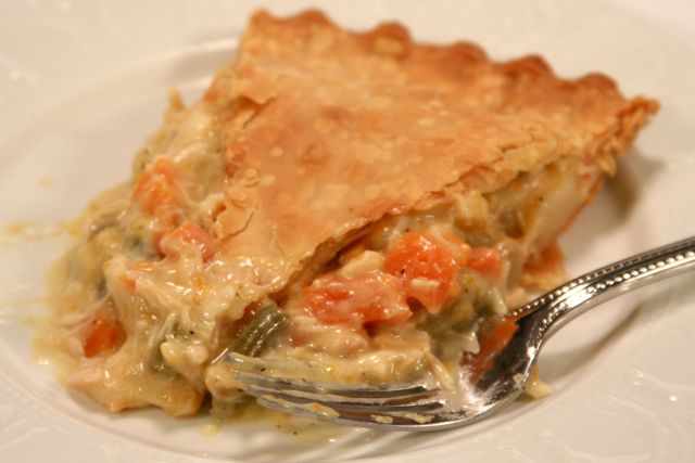 Delectalicious!: Lisa's Quick and Easy Chicken Pot Pie
