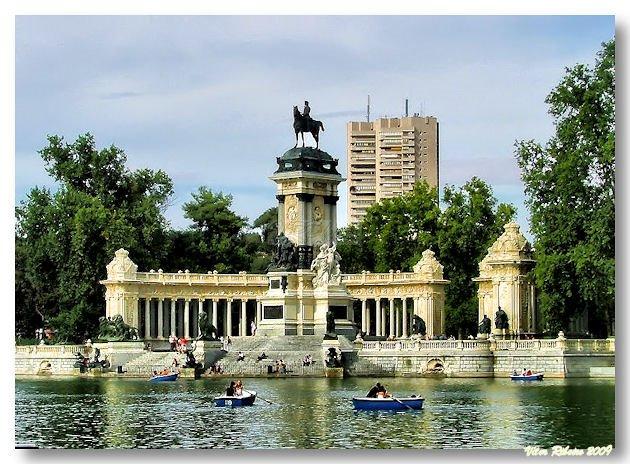 Parque El Retiro, em Madrid