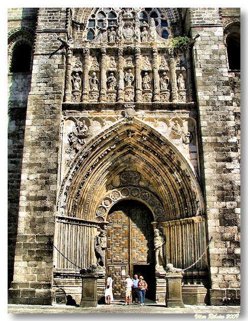 Portal da catedral de Ávila