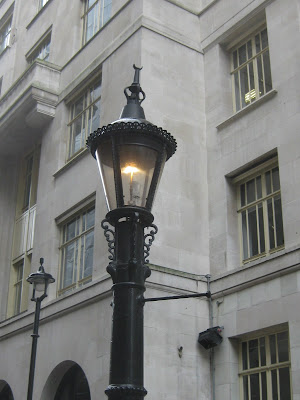 The l& is a Webb Patent Sewer Gas L& and was invented in the 19th century as a way to draw off smells from underground sewers. & Tired of London Tired of Life: Find the Webb Patent Sewer Gas Lamp azcodes.com
