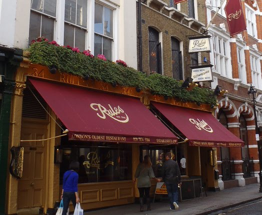 Tired of london tired of life visit rules london 39 s for Cafe le jardin bell lane london