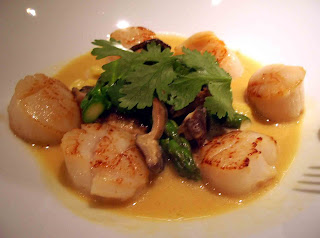 Pan-Seared Scallops With Asparagus And Baby Leeks Recipes ...