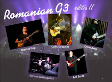 G3 Romanian guitarist tour