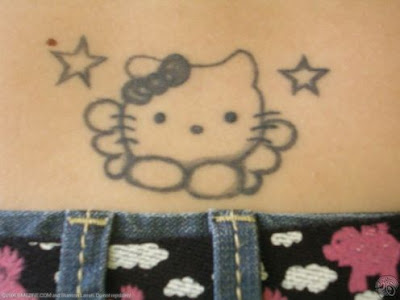 Sexiest Girl Picture on Hello Kitty Tattoo  Tattoo Sexy Girls Art Tattoo Girl Tattoo