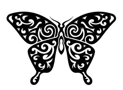 Tribal Tattoo, Butterfly Tattoo, Design Tattoo