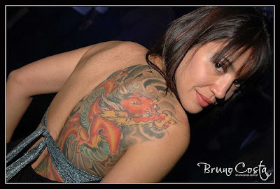 Woman Sexy Tattoo Art Back Body Design 1 Sexy Tattoos