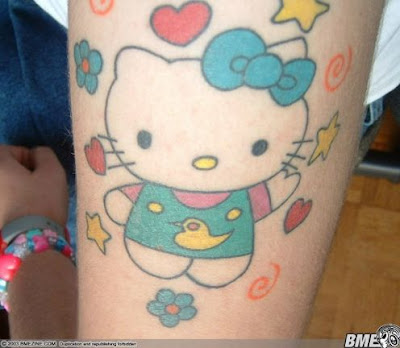 Woman Sexy Tattoo, Hello Kitty Tattoo,Art Tattoo,Body Tattoo,Design Tattoo,Crazy Tattoo,Girls Tattoo,Sexy Tattoo