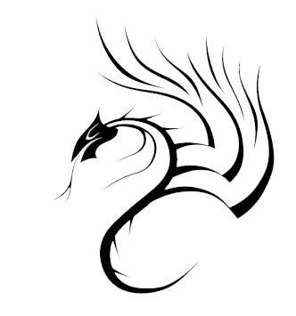 Tribal Tattoo Dragon,Art Tattoo Dragon, Design Tattoo Dragon,Tattoo Dragon Pictures,idea Tattoo Dragon