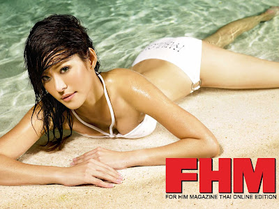 FHM Wallpaper Cover Girl