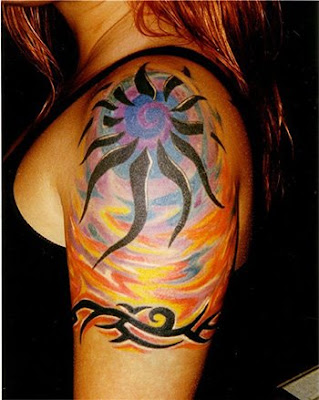 Tribal Tattoo Design Full Back Body