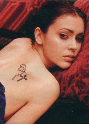 beautiful celebrity tattoos