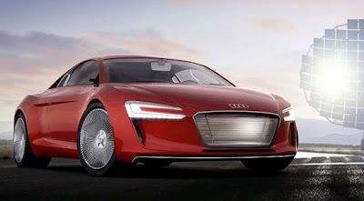 Audi electric R8 e-Tron Car News Review, Concept Car