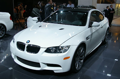 BMW M3 sedan shown