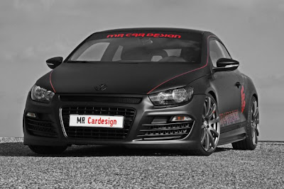 Volkswagen Scirocco Black Rocco, MR Car Design Car news Reviews 2009