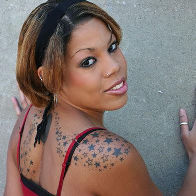 Star Tattoo Ear. images star tattoos