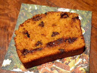 Low Fat Chocolate Chip Pumpkin Bread and More Linkage