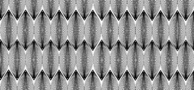 Repeating interference patterns