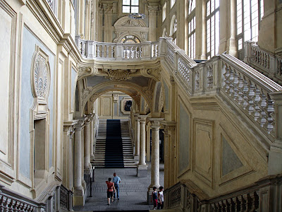I showed many times the wonderful Palazzo Madama (and Wiki HERE) but I never
