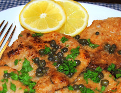 Veal Piccata With Capers In A Lemon Sauce
