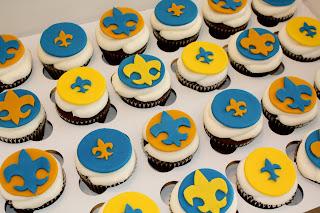 Boy Scout Cupcakes