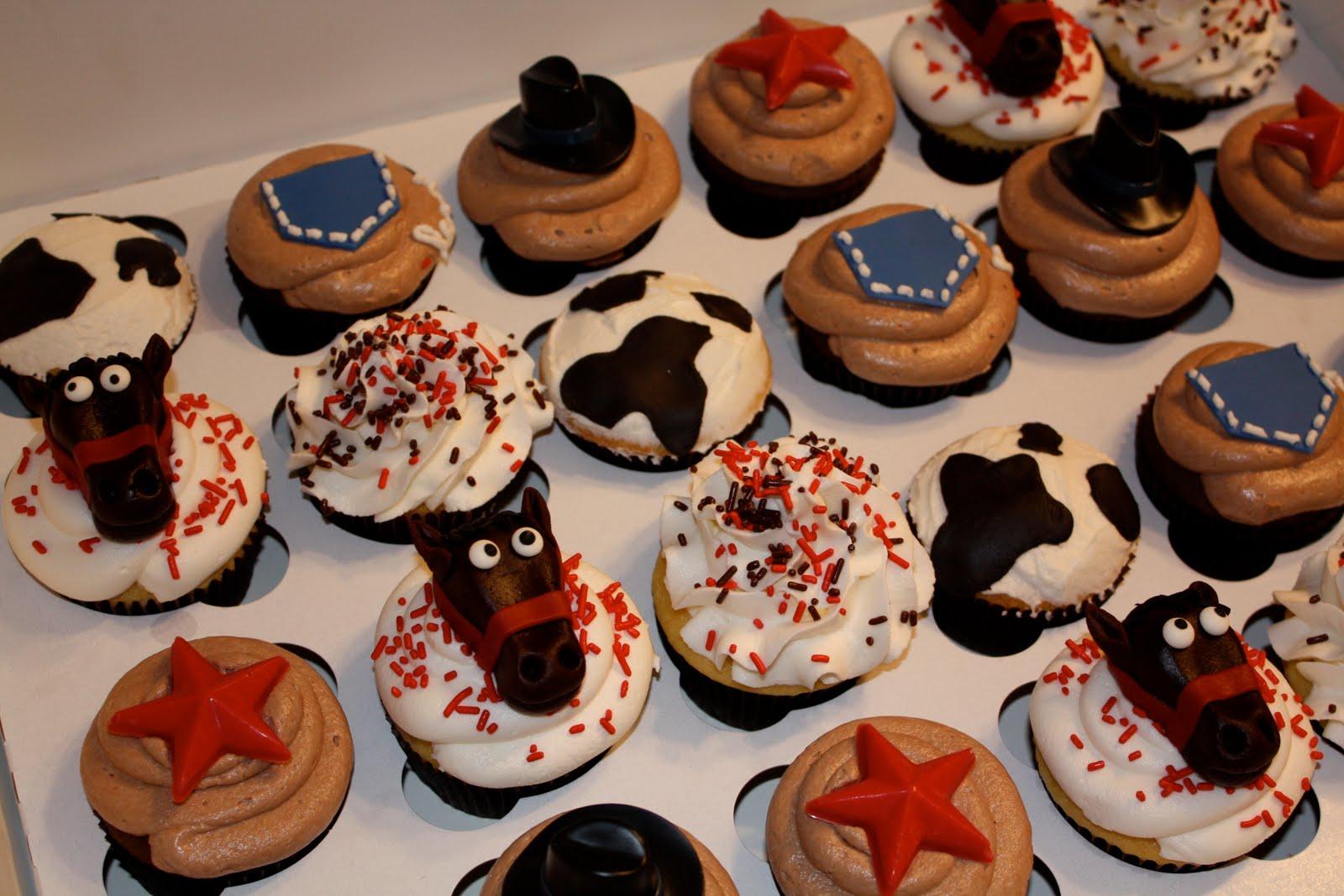 bumble cakes cowboy cupcakes