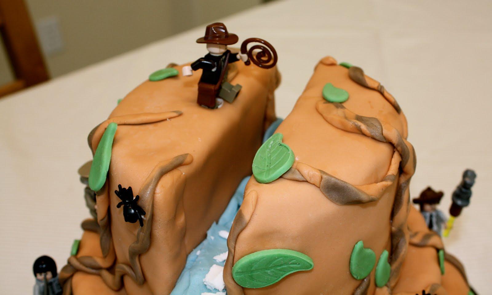 Bumble Cakes Indiana Jones Lego Cake