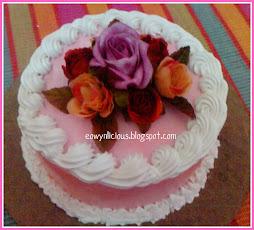 fully round cake ( S size )