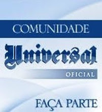 "CLIQUE NA FOTO E ACESSE A REDE SOCIAL ""COMUNIDADE UNIVERSAL"""