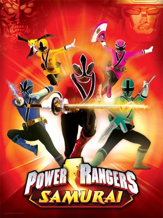 The Spinner Rack Power Rangers Samurai In 2011