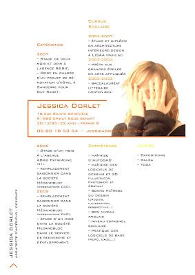 Jessica dorlet architecte d 39 int rieur designer cv online for Emploi architecte d interieur
