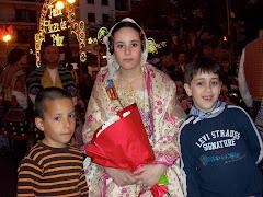 Ofrenda de Valencia 2008