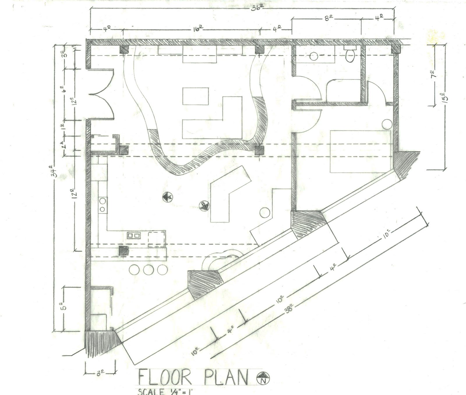 Shannon Stewart: Floor Plan and Reflected Ceiling Plan