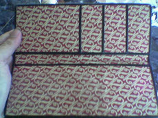 Contoh Souvenir Kami : Dompet Batik