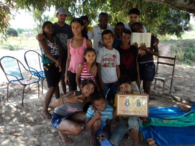 Visita Fraterna em Bom Jardim MA  JUVENTUDE FRANCISCANA DO MARANHÃO