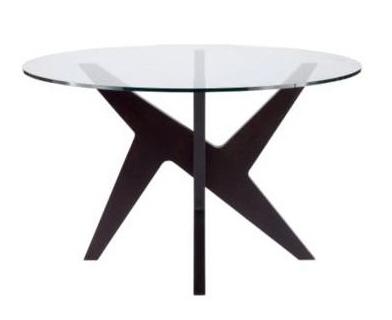 Furniture design styles modern round glass dining table for Round dining table modern design