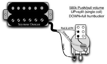 Wiring Guitar Pickups Bartolini Wiring Diagram Guitar Switch