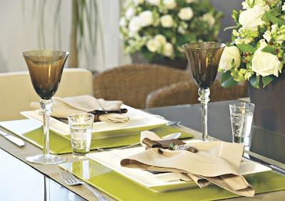 mesa almoço dia dos pais