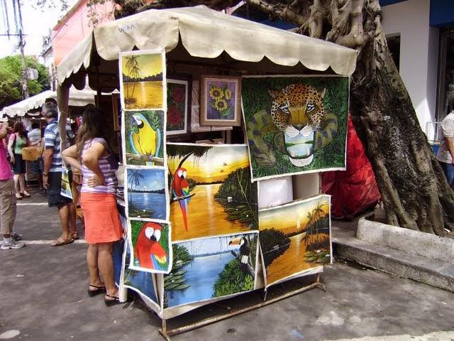 Aparador De Livros Westwing ~ Decoraç u00e3o de A a Z Feira de Artesanato em Manaus