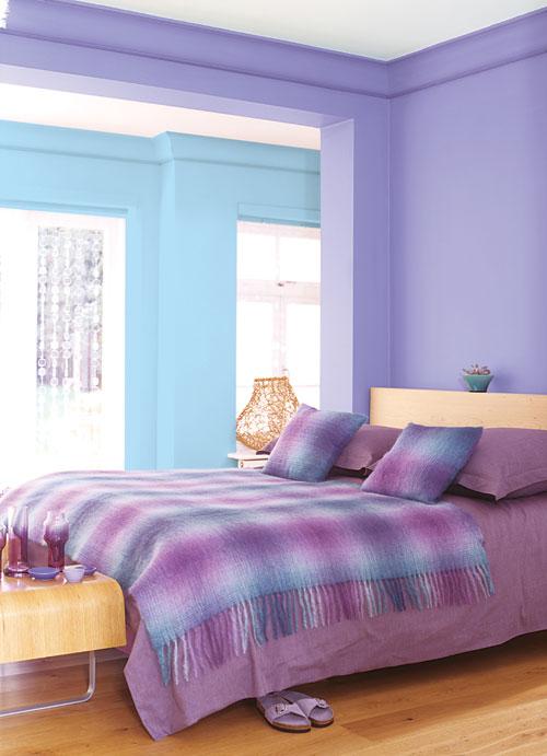 decoracao de sala lilas : decoracao de sala lilas:Decoração de A a Z: Azul com Lilas e Roxo Adoro essa Combinação