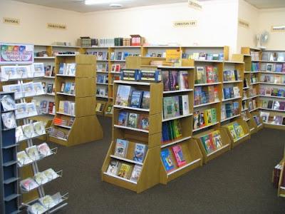Bookshop, London.