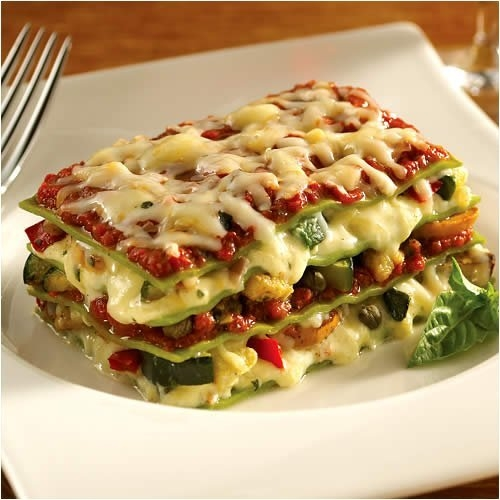 Vegetable lasagne is the delicious and yummy classic italian recipe of ...