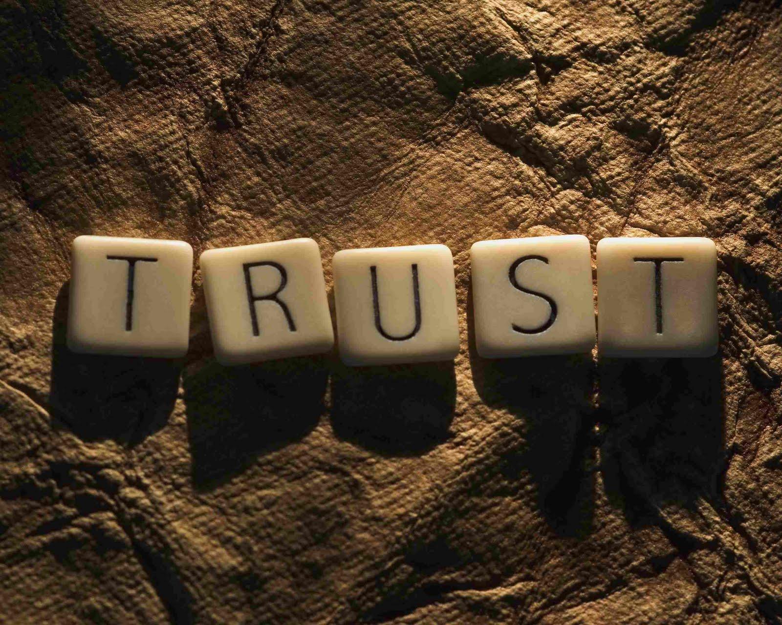 trusting and teamwork skits
