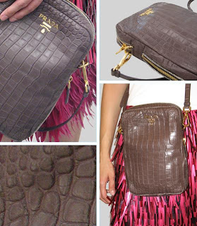 Prada | Crocodile Purse | Designer | Handbag